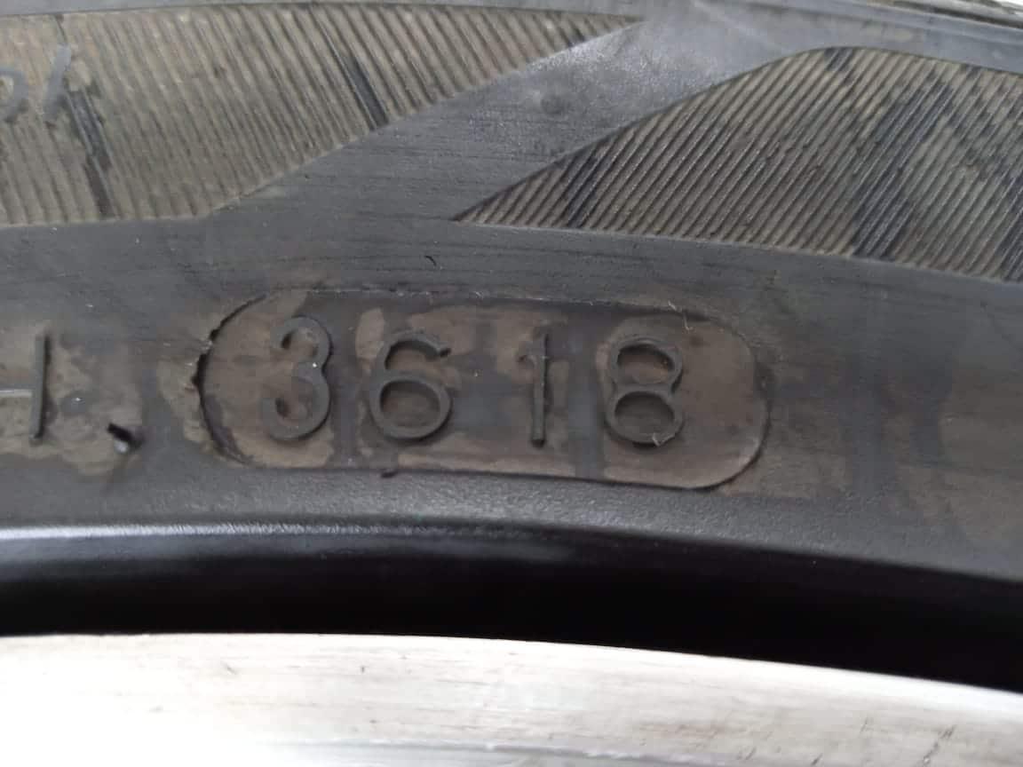 Velg Bekas Type SSW Ring 17 + Ban Hankook 205/45/R17