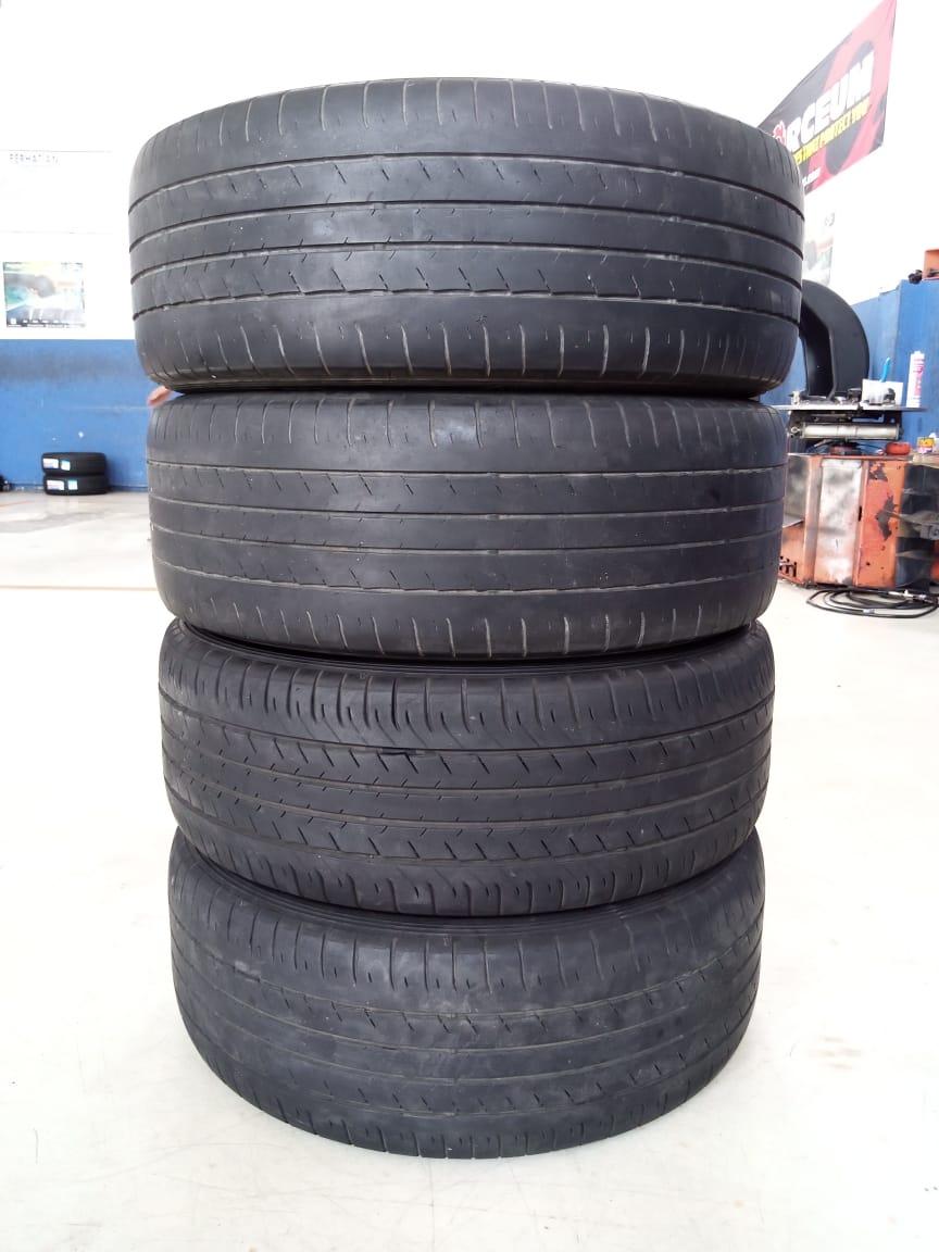 Velg Bekas HSR Type Verona Ring 17 + Ban Dunlop 215/55/R17