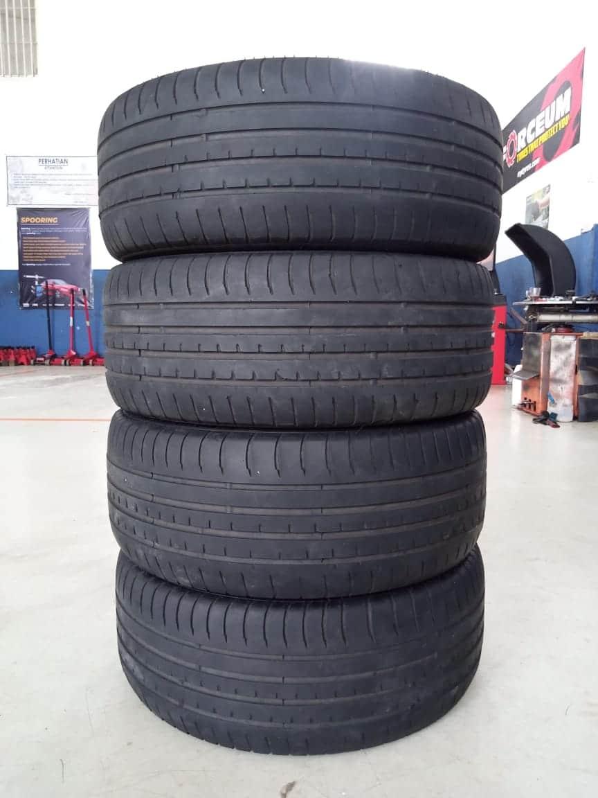 Velg Bekas HSR Type Nifty Ring 18 + Ban Accelera PHI 225/40/R18