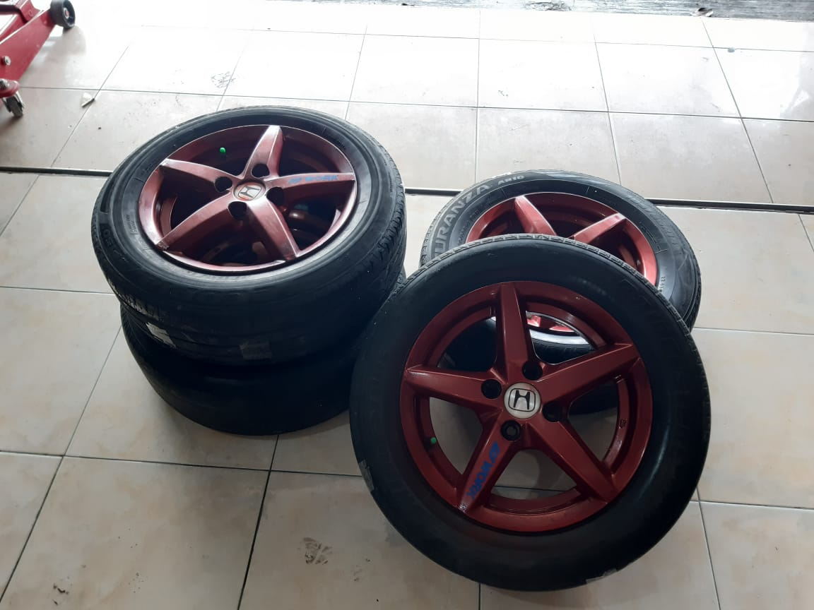 STD JAZZ R14X5 4X100ET45RED