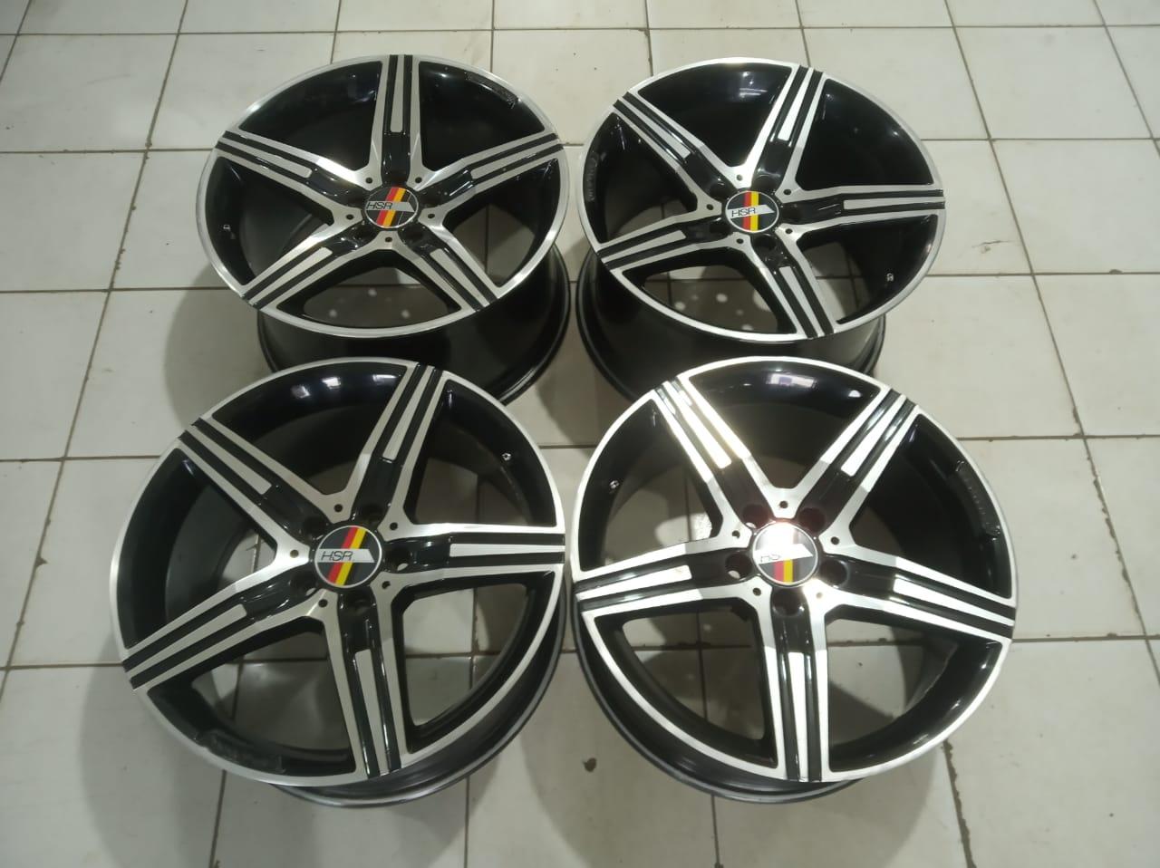Velg Mobil Racing Amg HSR Ring 18×8,5/9,5 Pcd 5×112 Et45