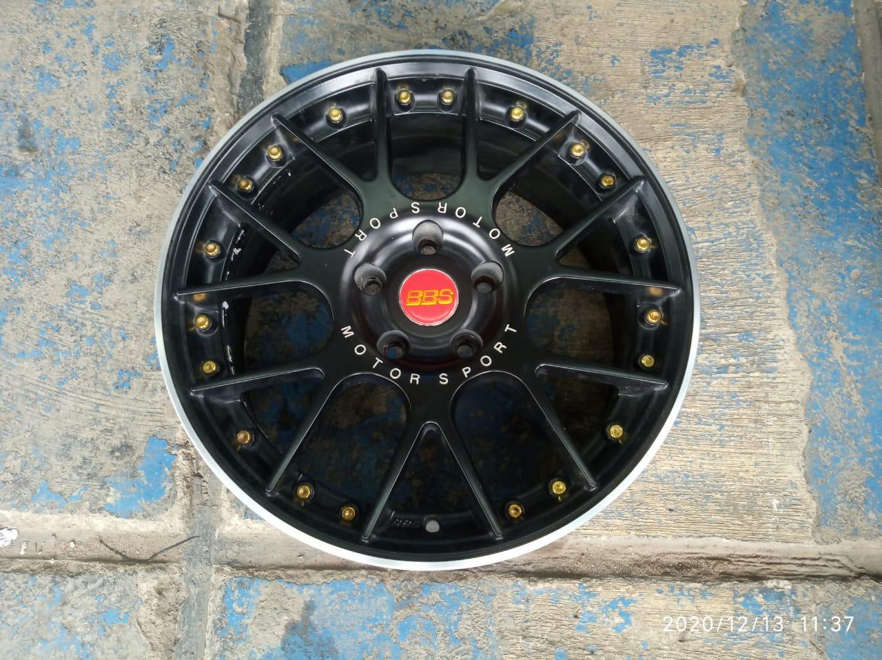velg mobil bekas bbs ring 17×7/8ninc pcd 5×114 et30/35