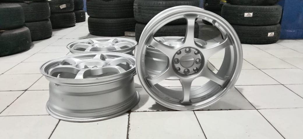 Velg mobil racing ssr type c ring 17 untuk vios jazz freed swift fiesta yaris