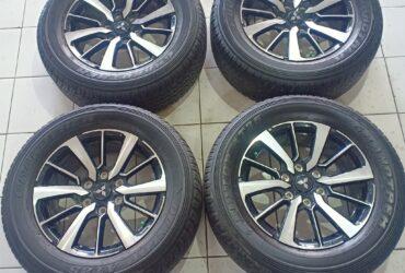 Jual Velg OEM NEW PAJERO R18 + BAN Dunlop 265.60 R18