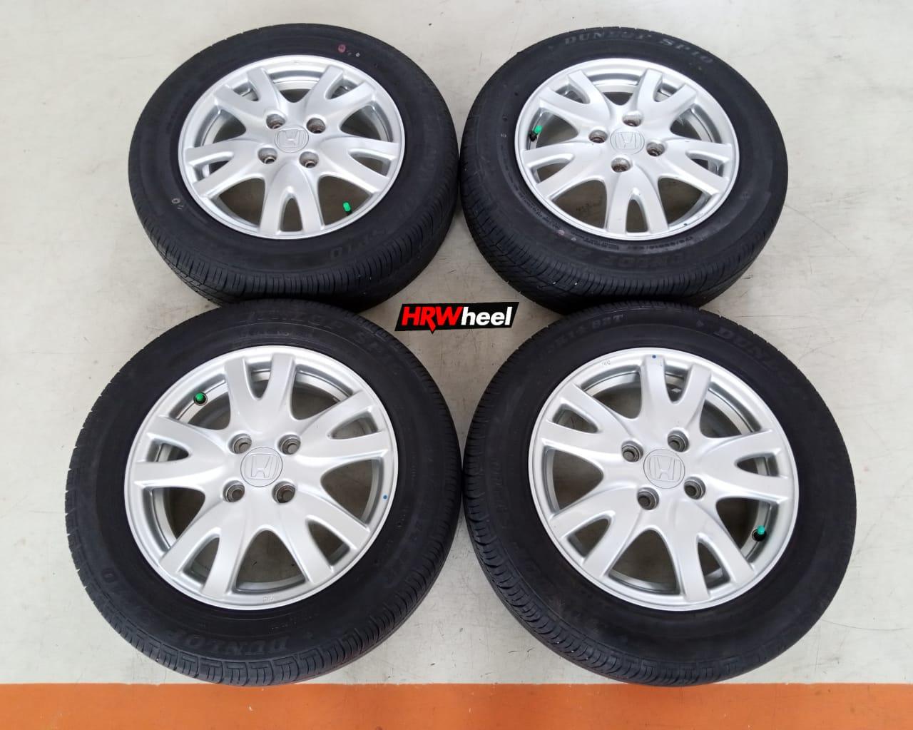 Velg Mobil Oem Honda Brio Ring 14 + Ban Dunlop 175/65/R14
