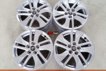 Velg Standar Toyota Sienta Ring 15×5,5 ET:39 Pcd:5×100 Silver