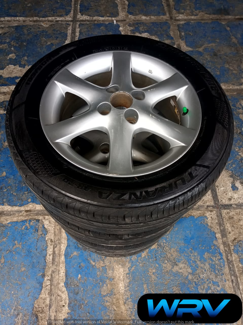 velg mobil bekas altis ring 15×5 pcd 4×100 seken murah plus ban
