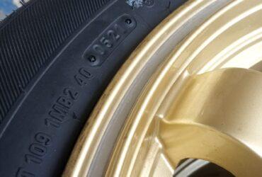 velg seken bekas te37 ring 15×7 pcd 4×100 4×114 plus ban 195 65 r15 seken