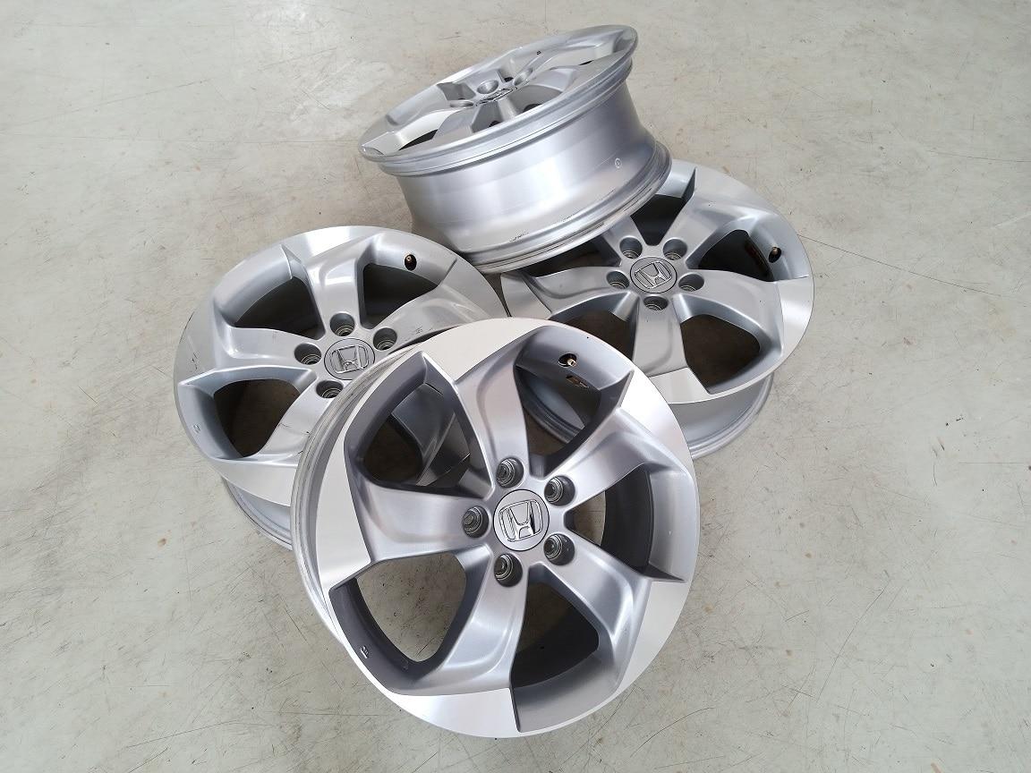 Velg Bekas Oem Honda HR-V Ring 17×7 ET:55 Pcd:5×114,3 Silver Polish