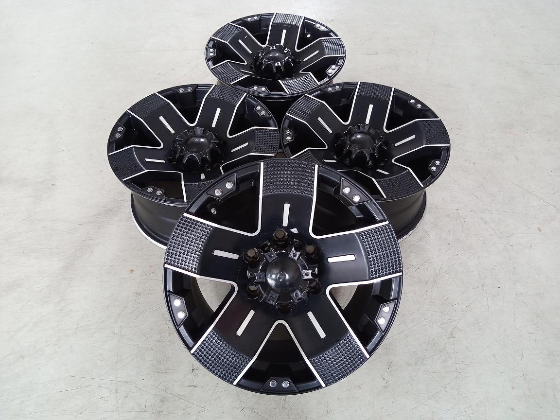 Velg Bekas Type Balistik Ring 16 H:6×139,7 Bisa Buat Pajero,Fortuner,Hilux Double
