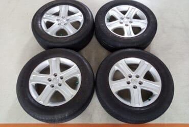 Velg Bekas Original Suzuki Vitara Ring 17 + Ban Bridgestone 225/65/R17