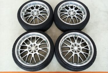 Velg Bekas Type K-Speed Ring 18 + Ban Buat Freed,Vios,City,Livina