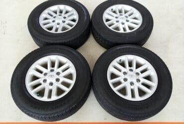 Jual Velg Seken Oem Toyota Fortuner Ring 17 + Ban Achilles 265/65/R17