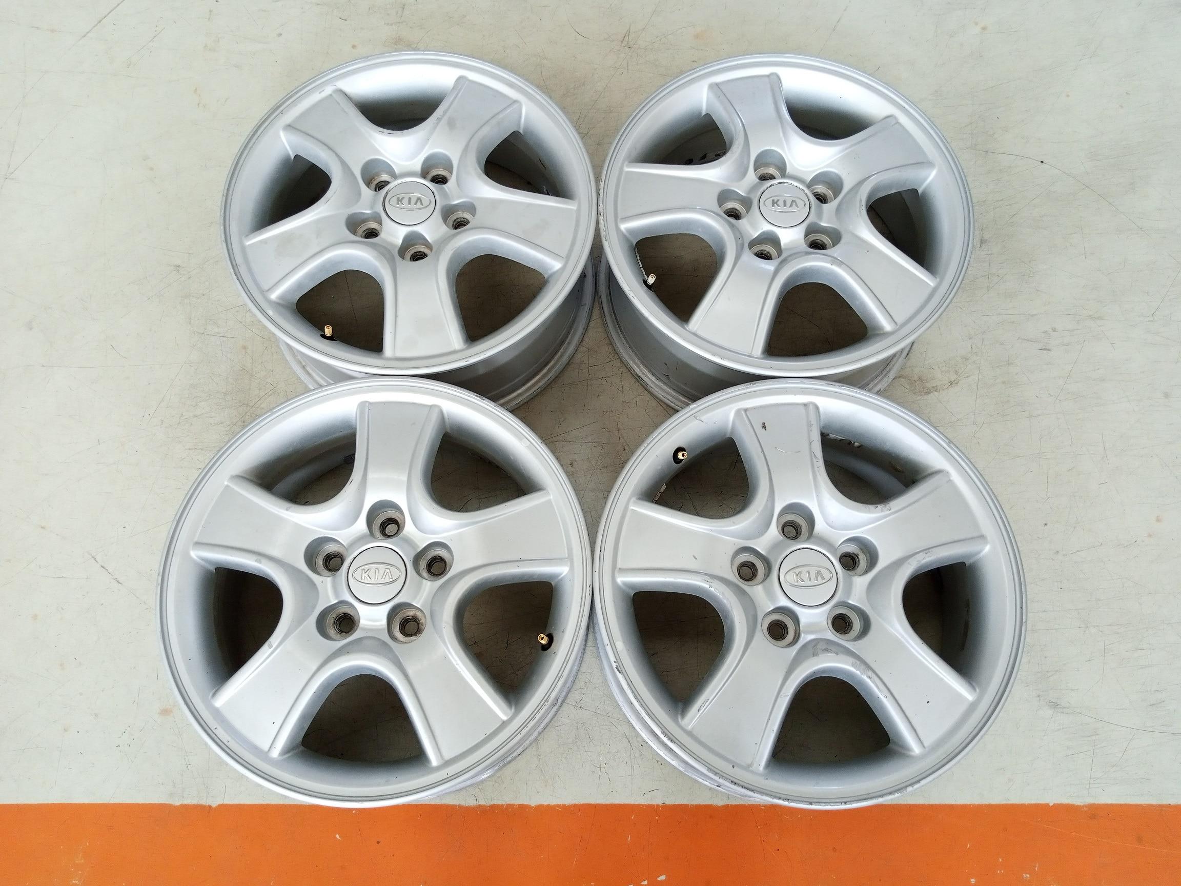 Velg Bekas Oem Hyundai KIA Sportage Ring 16 H:5×114,3 Silver