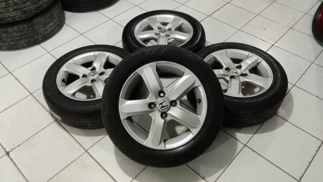 Velg Oem Mobil Bekas Honda City Ring 15 Pcd 4×100 Plus Ban R15