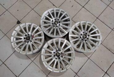 Velg Mobil Bekas Model Autospeed Ring 16 Pcd 4×100-4×114,3