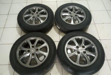 Pelek-Velg Oem Mobil Hyundai Ring 14 Pcd 4×100 Plus Ban R14