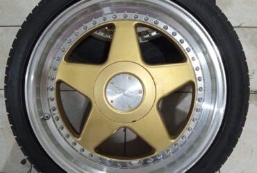 jual velg bekas model oz futura ring 17×75 85 pcd 4×100 4×114 seken murah bekas berkualitas
