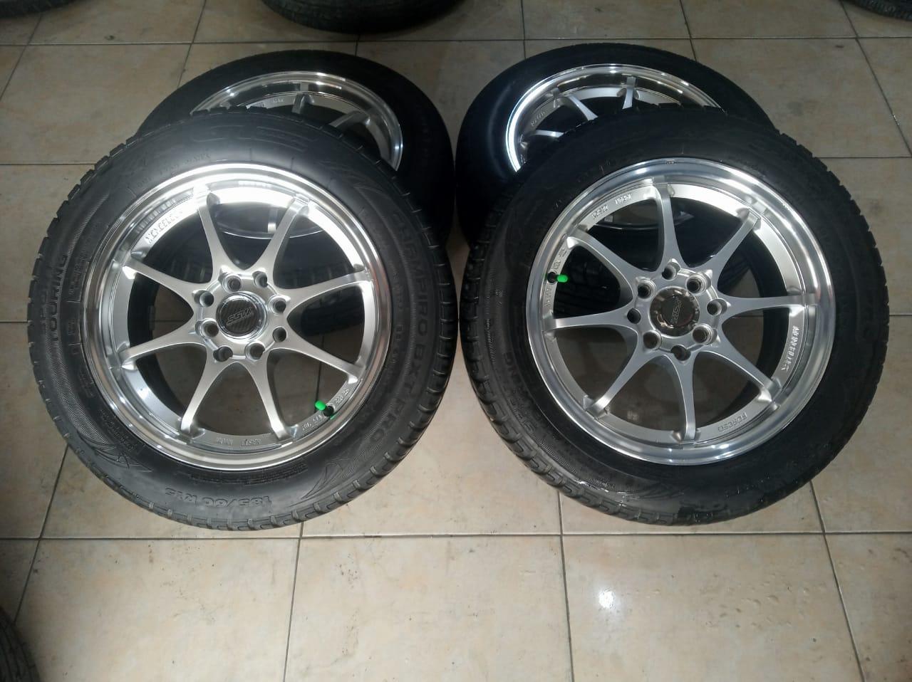 VELG RACING CE28 +BAN GT 185 60 R15