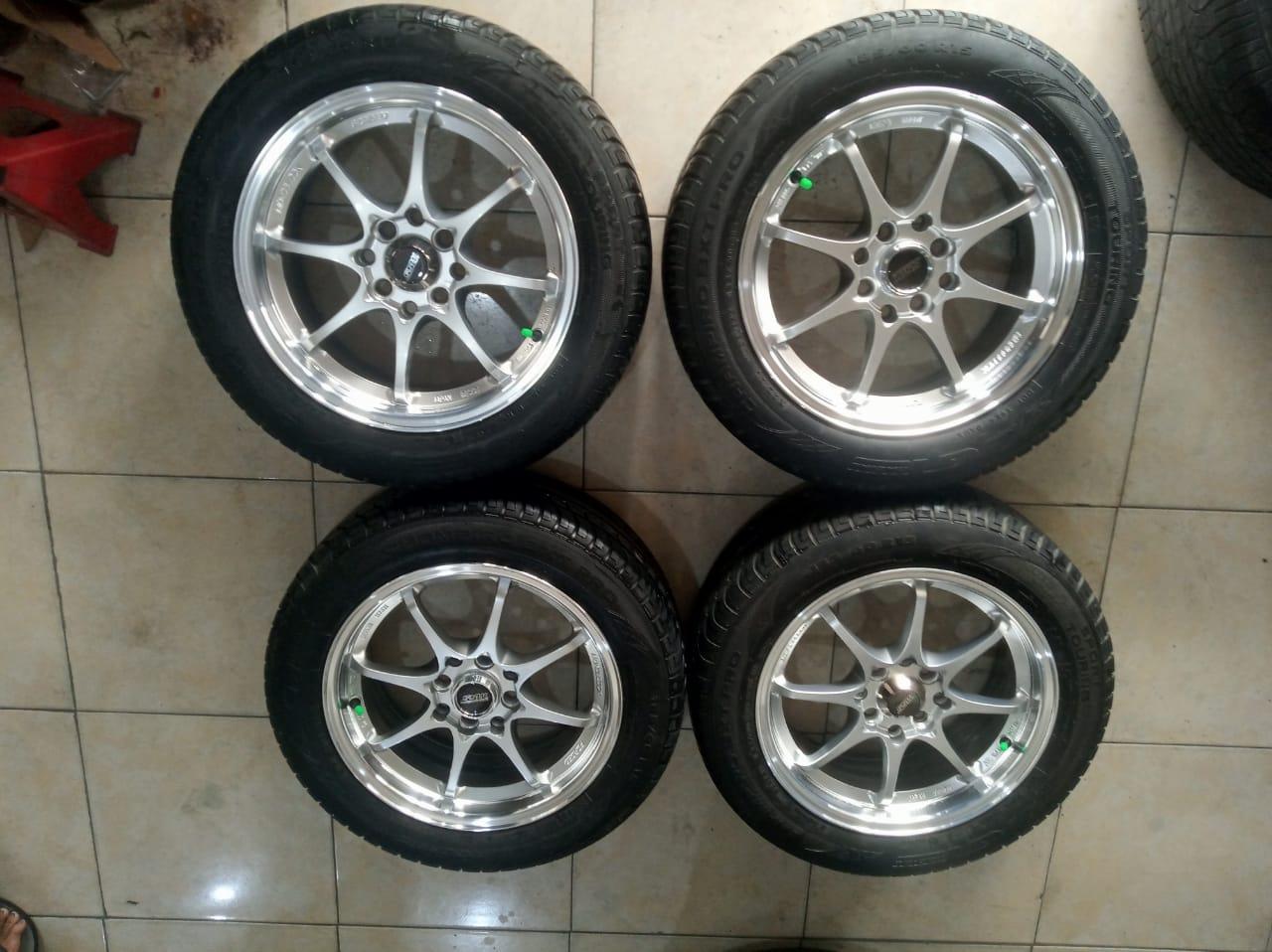 VELG MOBIL  RACING CE28 +BAN GT 185 60 R15