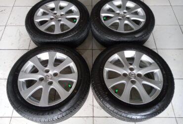 Jual velg OEM Mazda R15+ban