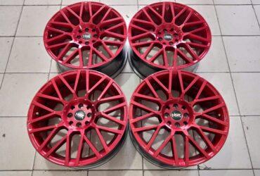 Velg Bekas Model Hsr Revenge Ring 18 Pcd 4×100-4×114,3 Red