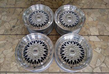 Velg Mobil Ori HSR RS Ring 15 Lebar 7/8 ET 20/15 Baut pcd 4×100, 4×114