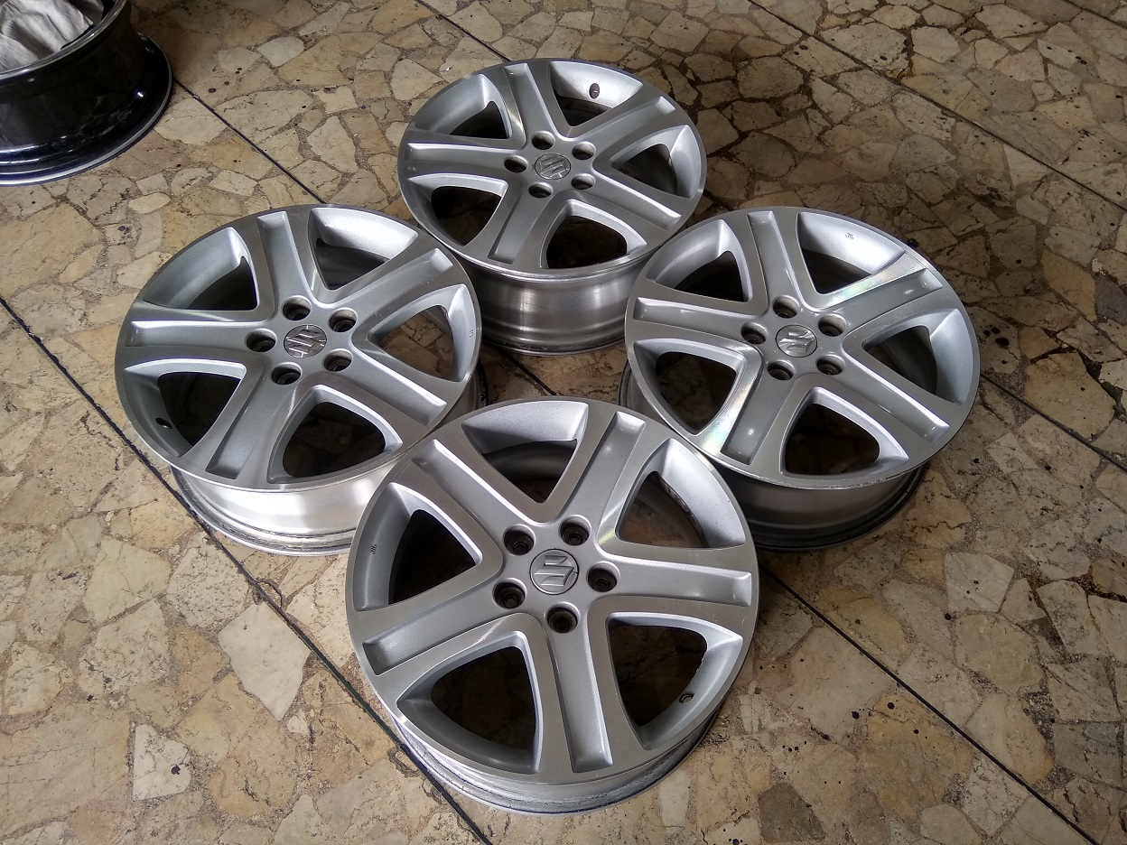 Velg Mobil Ori Copotan Vitara Ring 17 Lebar 6,5 Lubang Baut pcd 5×114