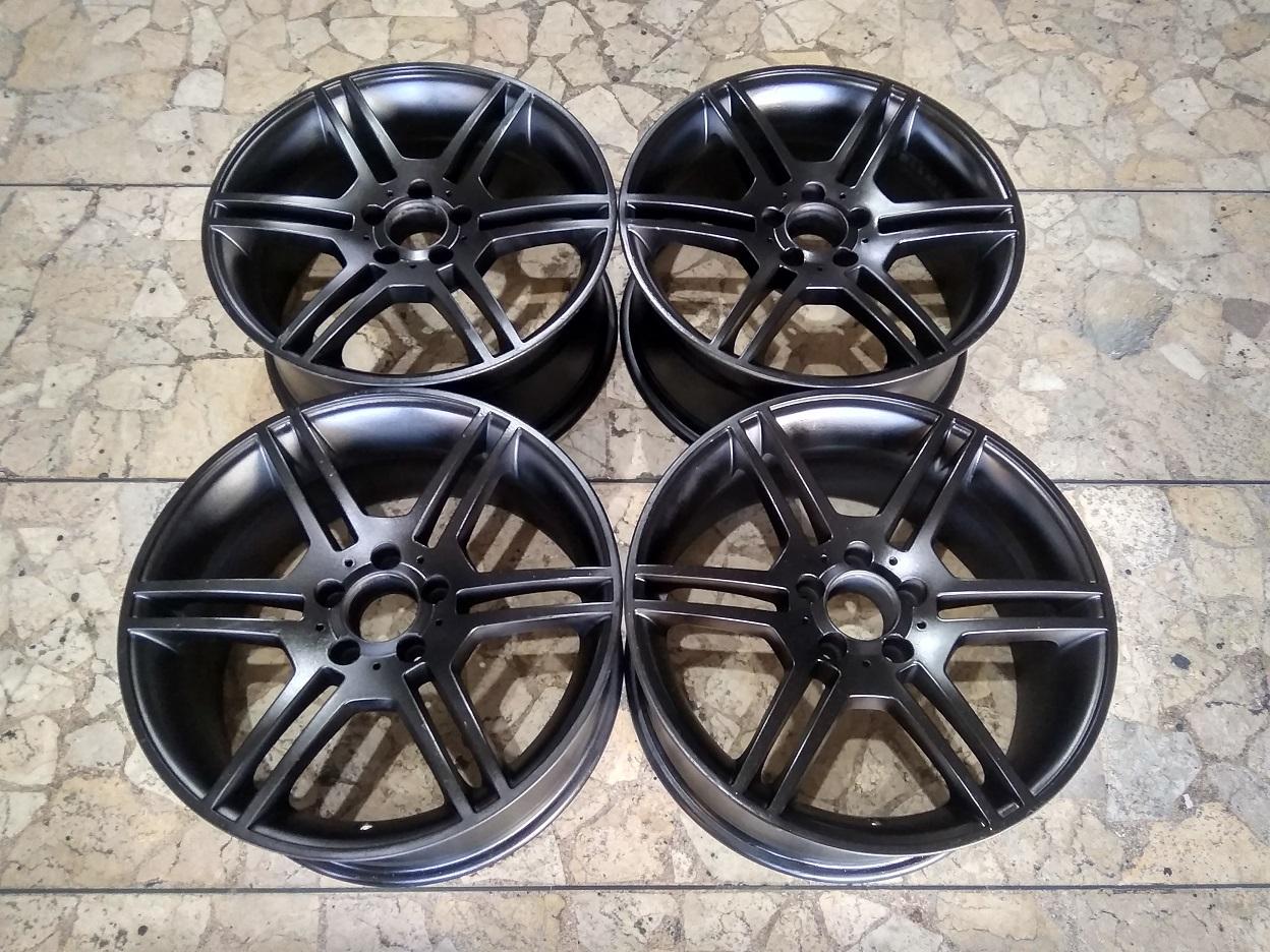 Velg Mobil Copotan AMG Ring 18 Lebar 8,5 Lubang Baut pcd 5×112/114