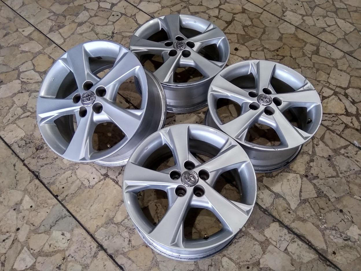 Velg Mobil Ori Copotan Altis Ring 16 Lebar 6,5 Lubang Baut pcd 5×100