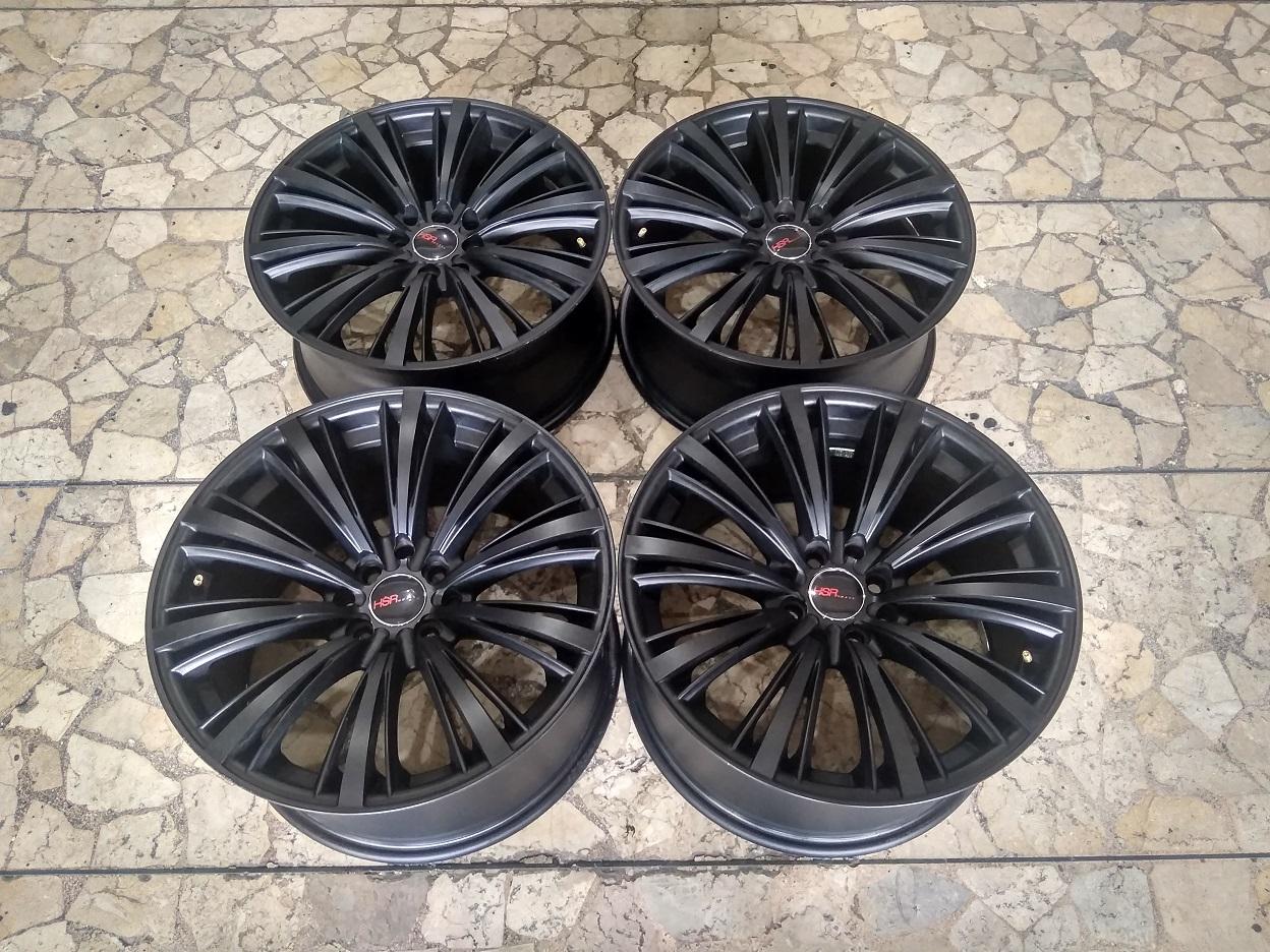 Velg Mobil HSR Impul Ring 17 Lebar 7,5/9 Lubang Baut pcd 4×100, 4×114