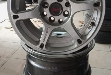 VELG MOBIL RACING SECOND FORGED DURA RING 15X7 PCD 4X100, 4X114,3 ET35