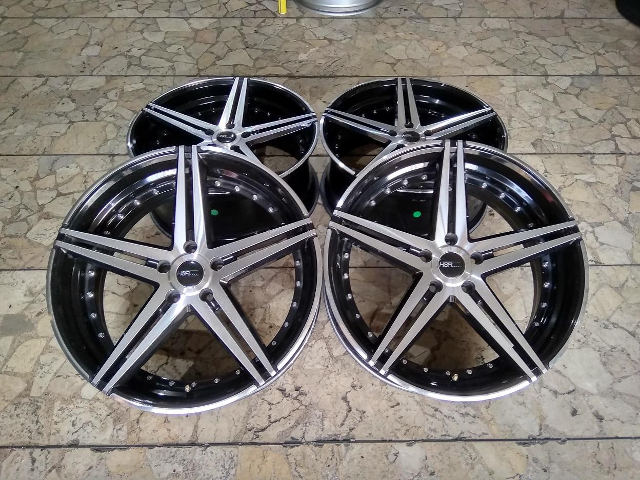 Bekasan Velg Mobil HSR Petersburg Ring 20 Lebar 8,5 Baud pcd 5×114