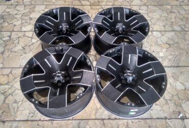 Bekasan Velg Mobil Balistik Ring 20 Lebar 9 ET20 Baut pcd 5×127